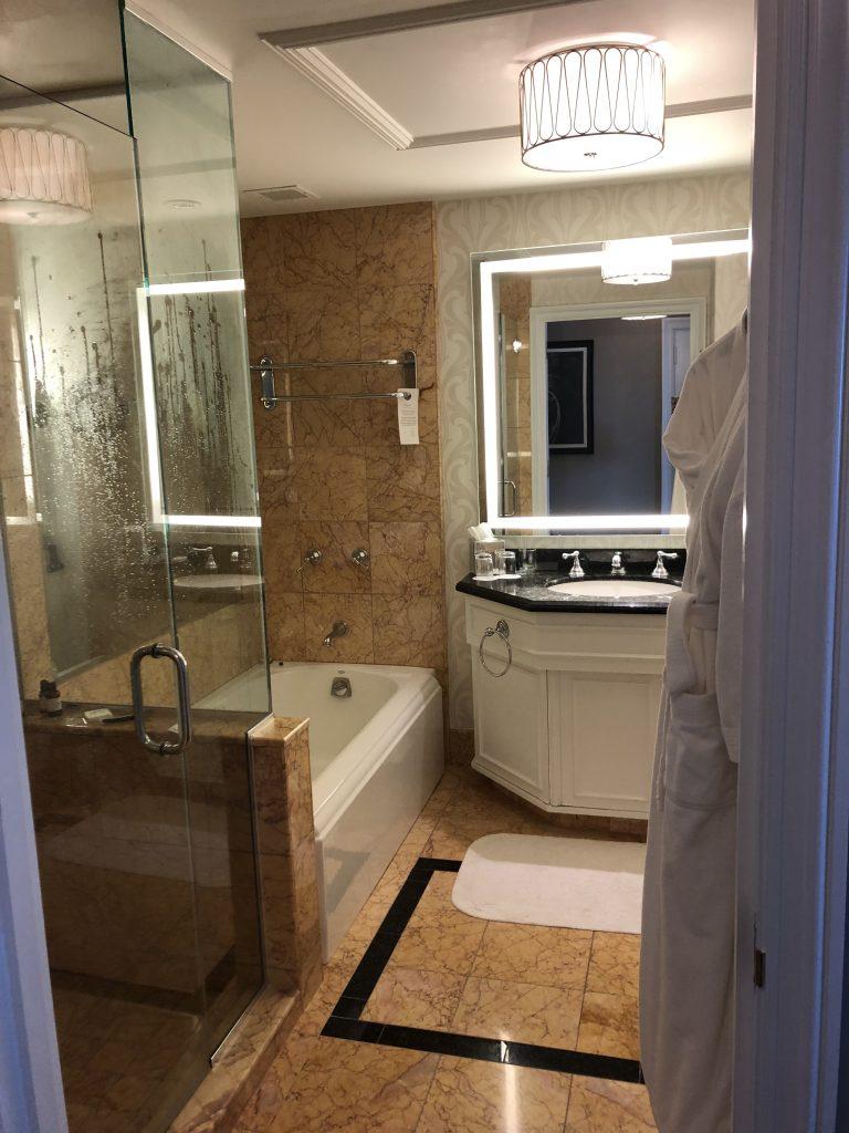 Fairmont San Francisco Bathroom